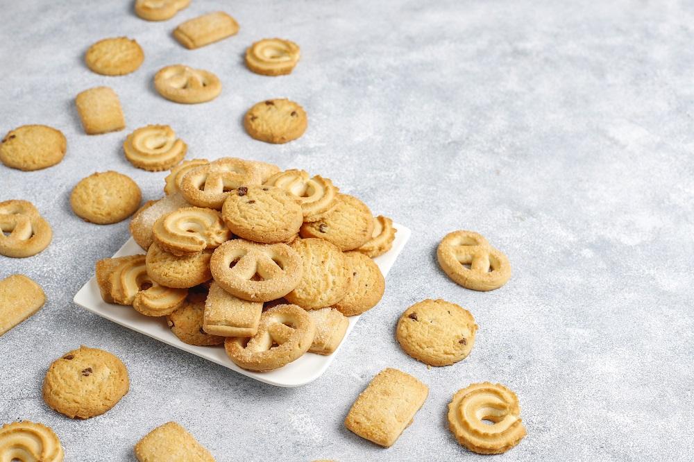 przepis na kruche ciasteczka maślane