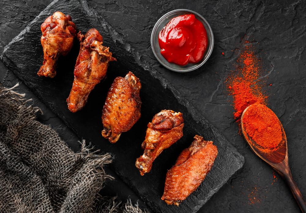 Kurczak w sosie worcester